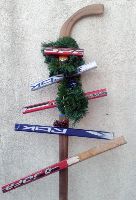 HockeyChristmasTree