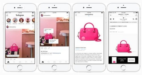 de compras con instagram